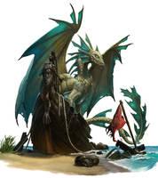 Bronze Dragon by Rhineville