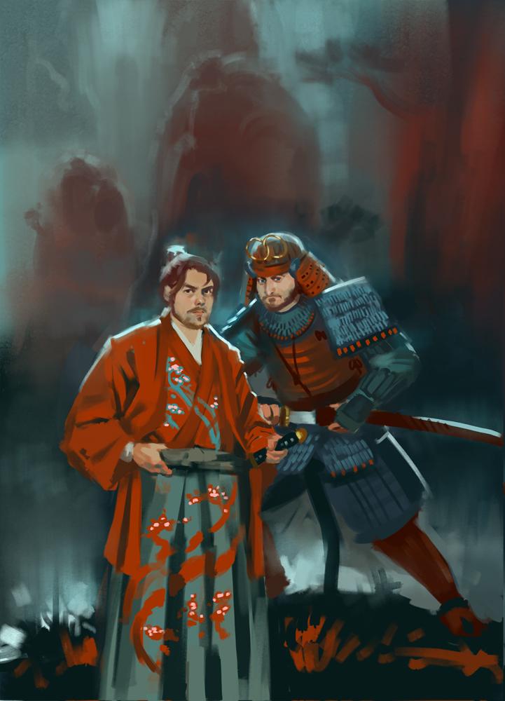 Samurai Abstinence Patrol by Rhineville