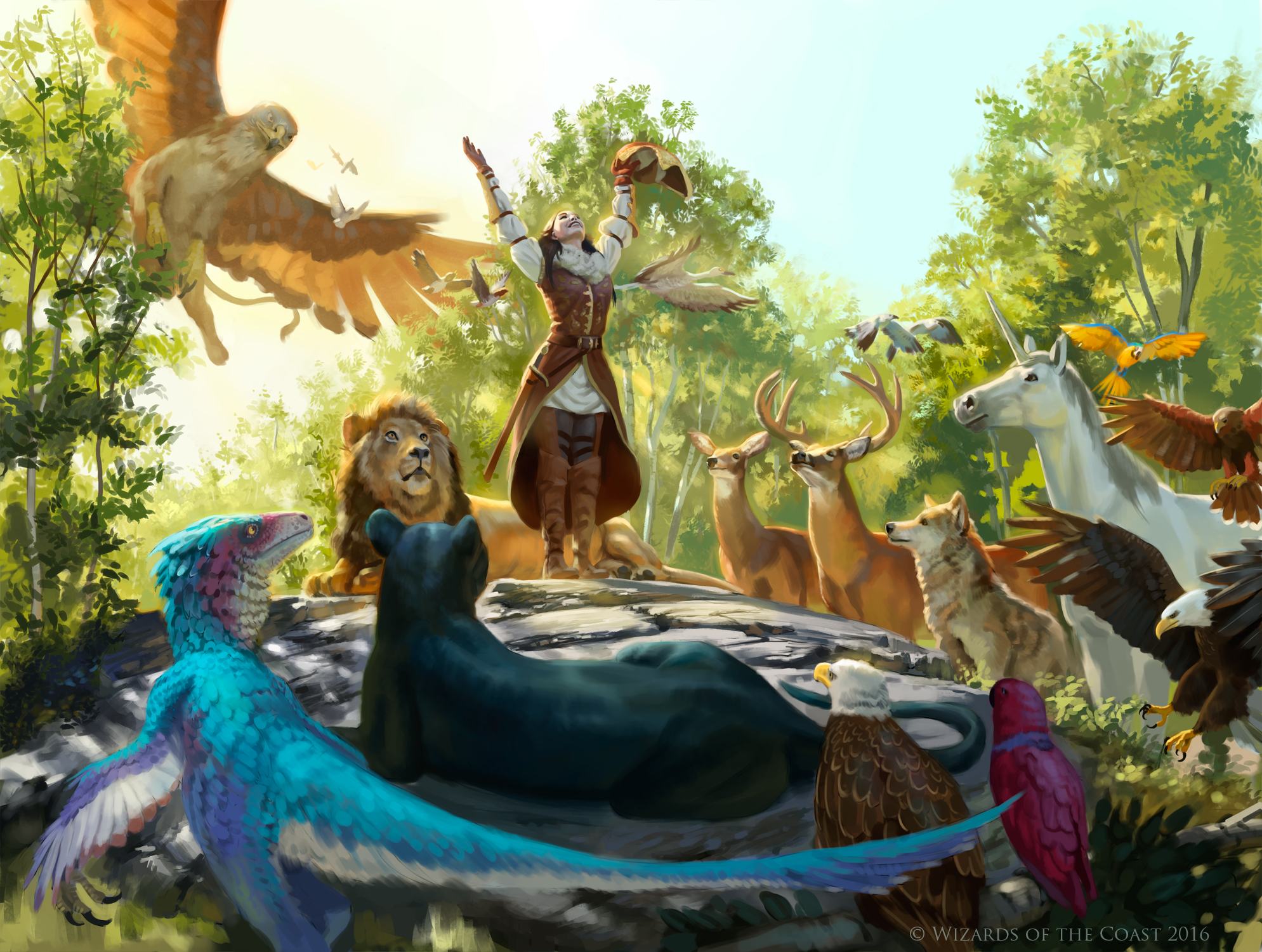 Hymn of the Wilds by Rhineville