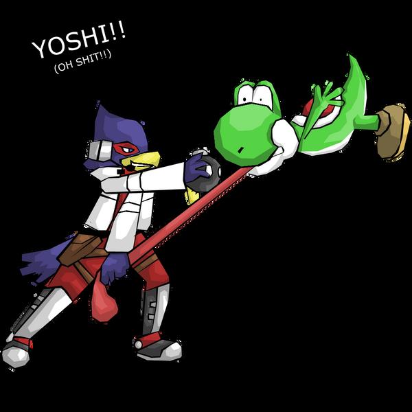 ssbb-Oh shit by Teen-RobotFalco Ssbb Drawings