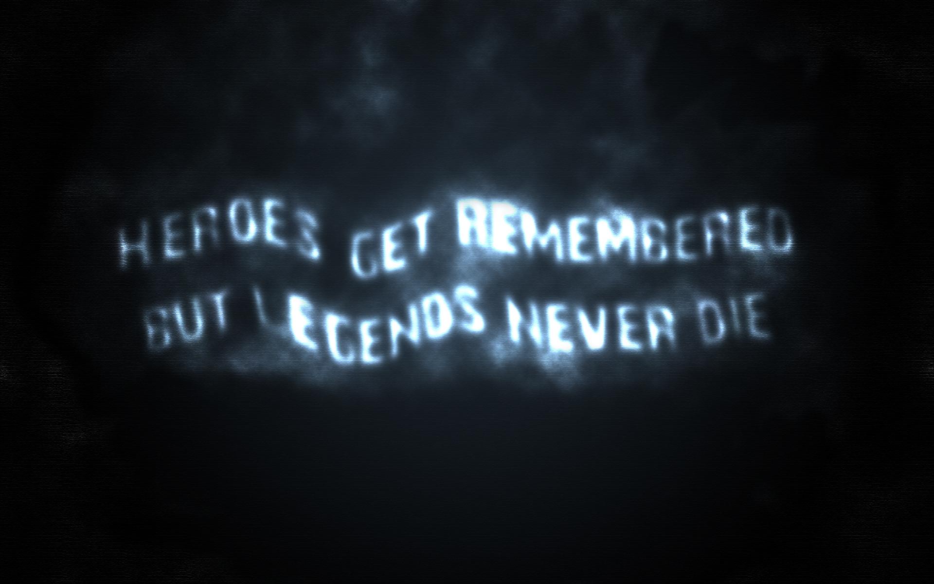 Legends Never Die By Noblevillain On Deviantart