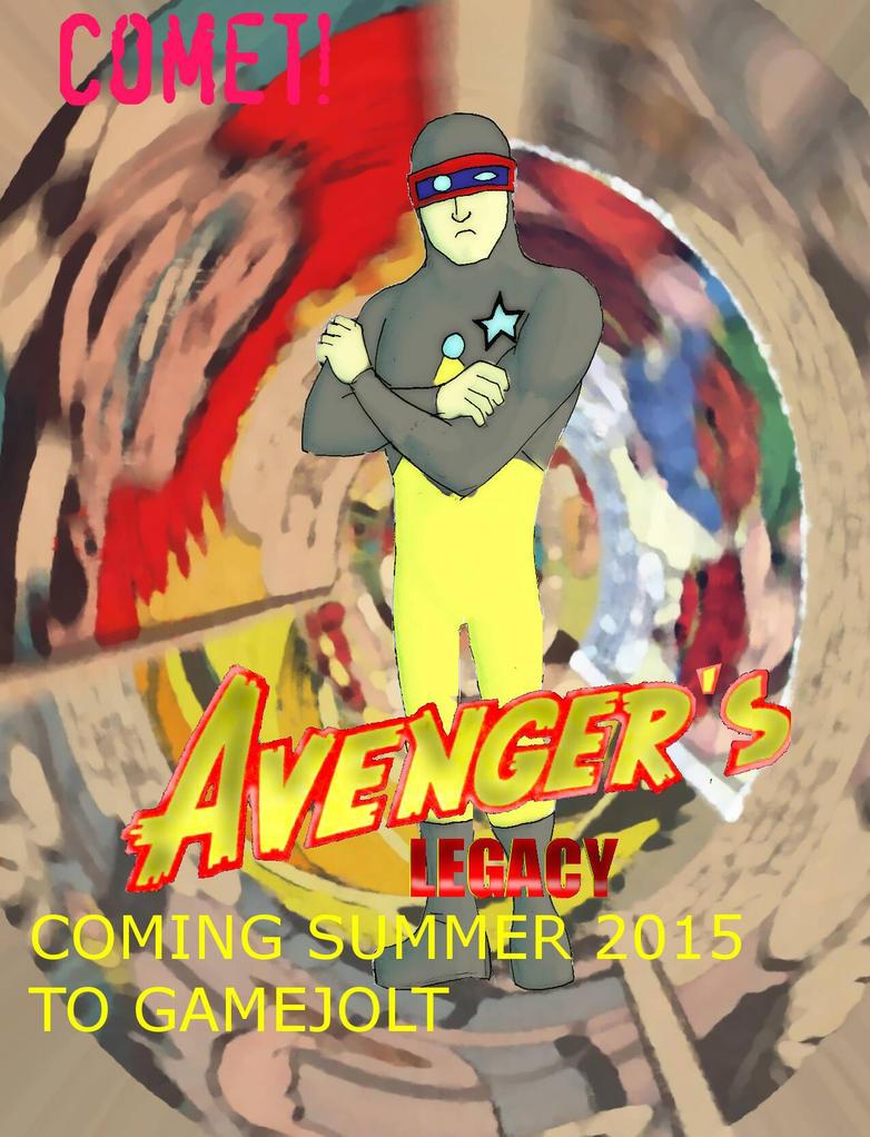 Avenger's Legacy Ad Comet by Batzarro