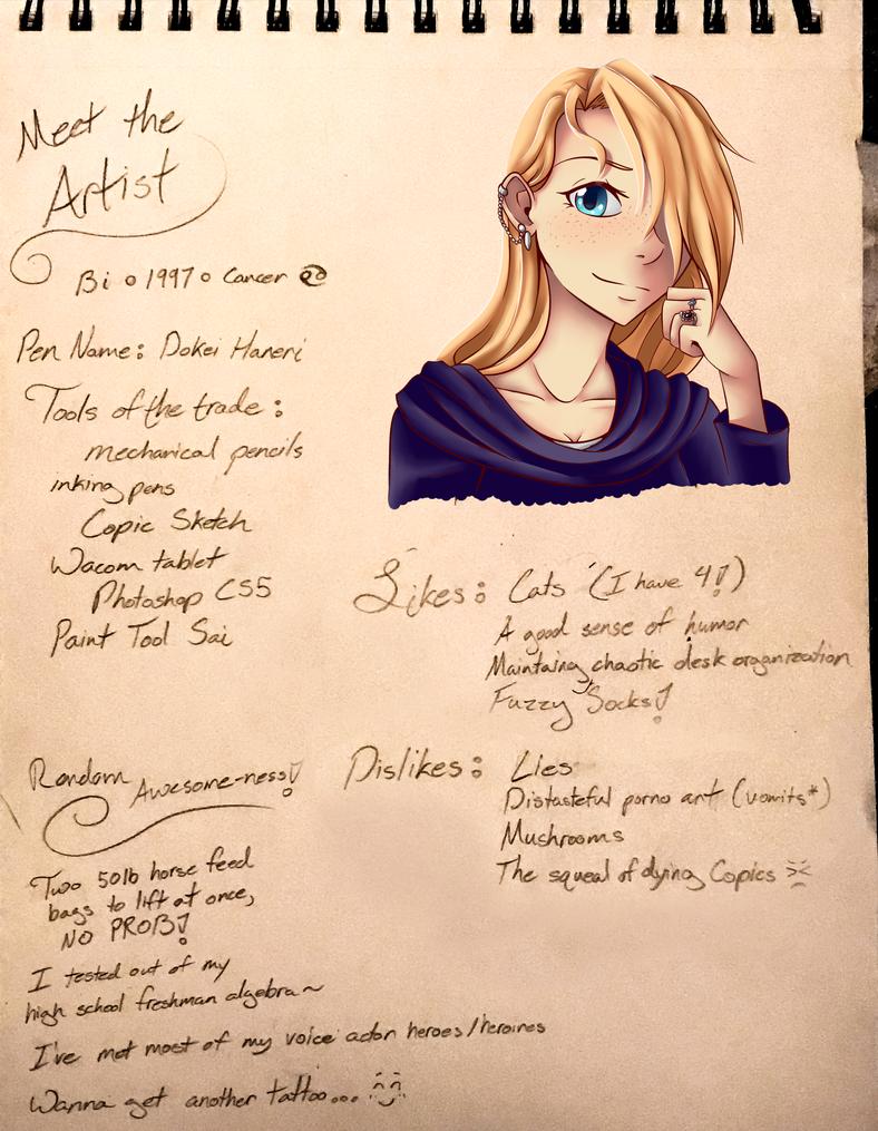 Meet the Artist by Umbra-Neko