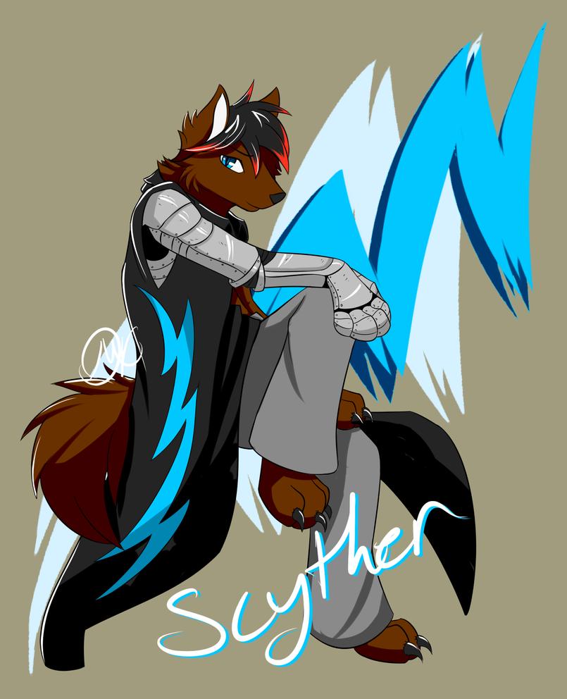 Scyther - OC Ref by Umbra-Neko