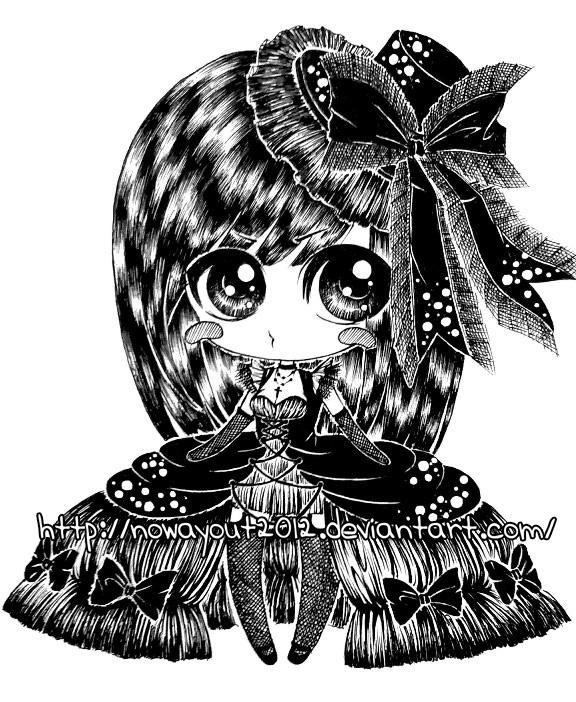 gothic chibi by Tonowa