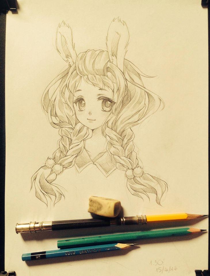 random sketch by Tonowa