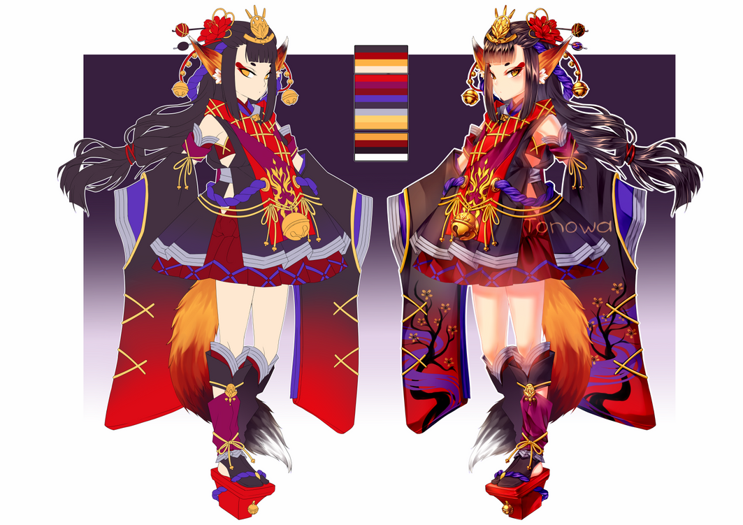 Kitsune by Tonowa