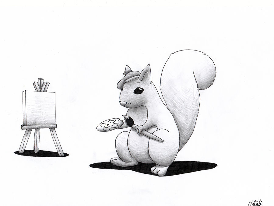 Squirrel by n-Night-Star-n