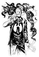 Hellblazer: Dangerous Habits by francesco-biagini