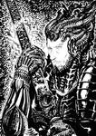 Elric Giger-style