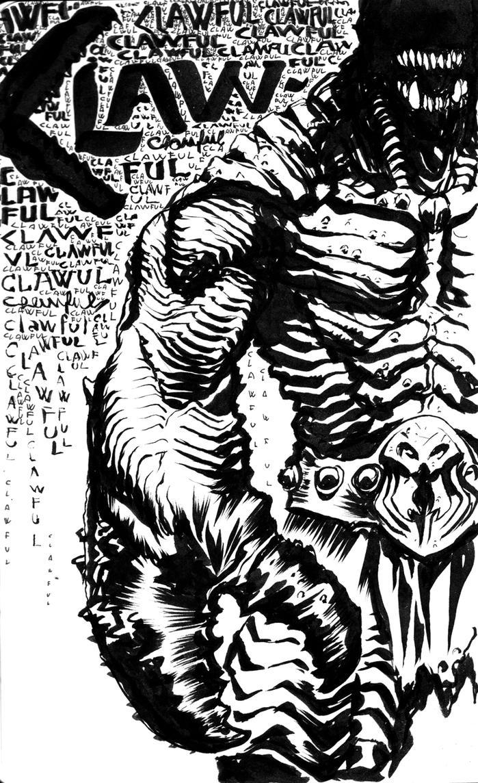 MOTU Claw-Ful sketch by francesco-biagini