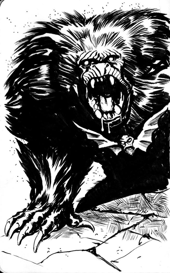 MOTU Grizzlor sketch by francesco-biagini