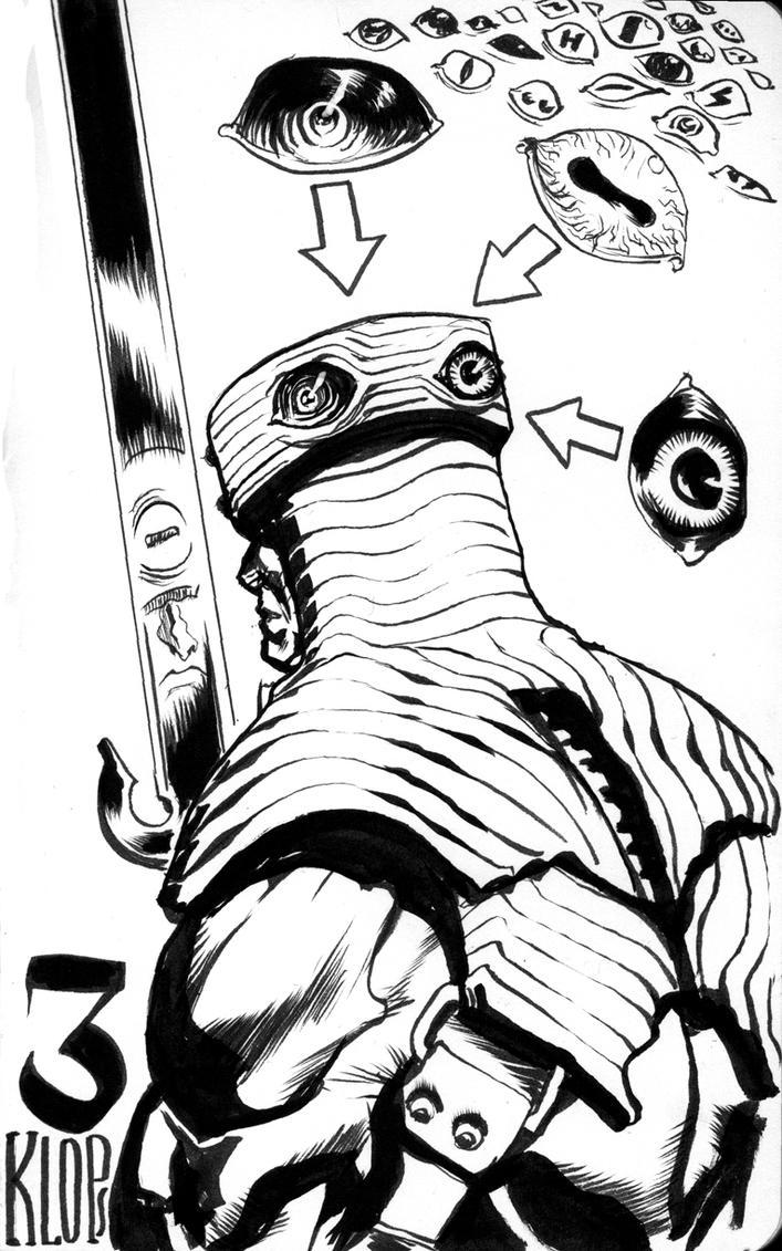 MOTU Tri-Klops sketch by francesco-biagini