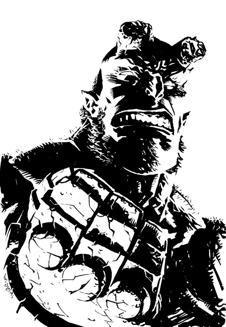 Hellboy by francesco-biagini