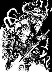 Hellboy rising by francesco-biagini