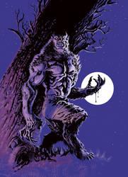 The Wolf-Man by francesco-biagini