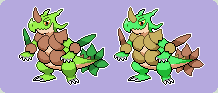 #003 Grass Starter Second Stage Sprite by SupahSanti