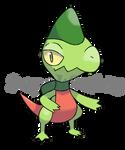 Crested Lizard Pokemon