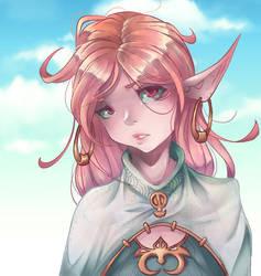Elf  Girl by XxSacrosimxX