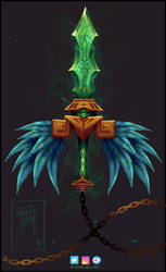 The Emerald Kusarigama