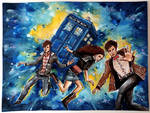 11th Doctor and his companions
