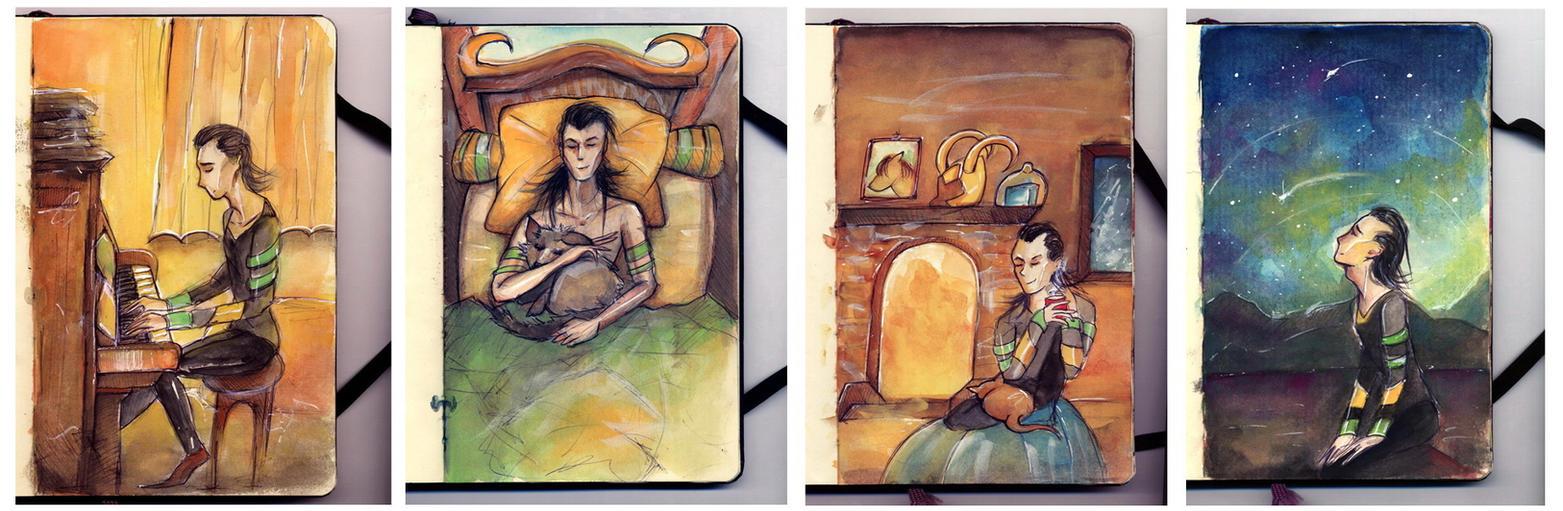 Loki Laufeyson on Midgard by Farbenfrei