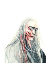 I have faced the serpents of the North THRANDUIL by Farbenfrei