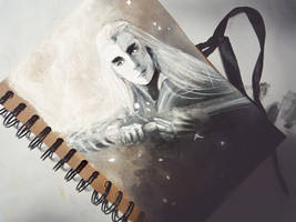 Dark and Light - THRANDUIL by Farbenfrei