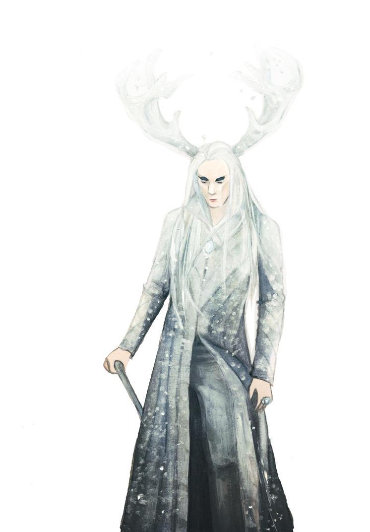 DIAMOND - Elvenking Thranduil by Farbenfrei
