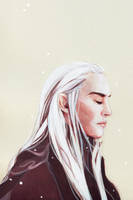 THRANDUIL - A pale winter moon by Farbenfrei