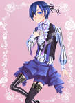 Smile, Ciel Phantomhive by ochanotsuki