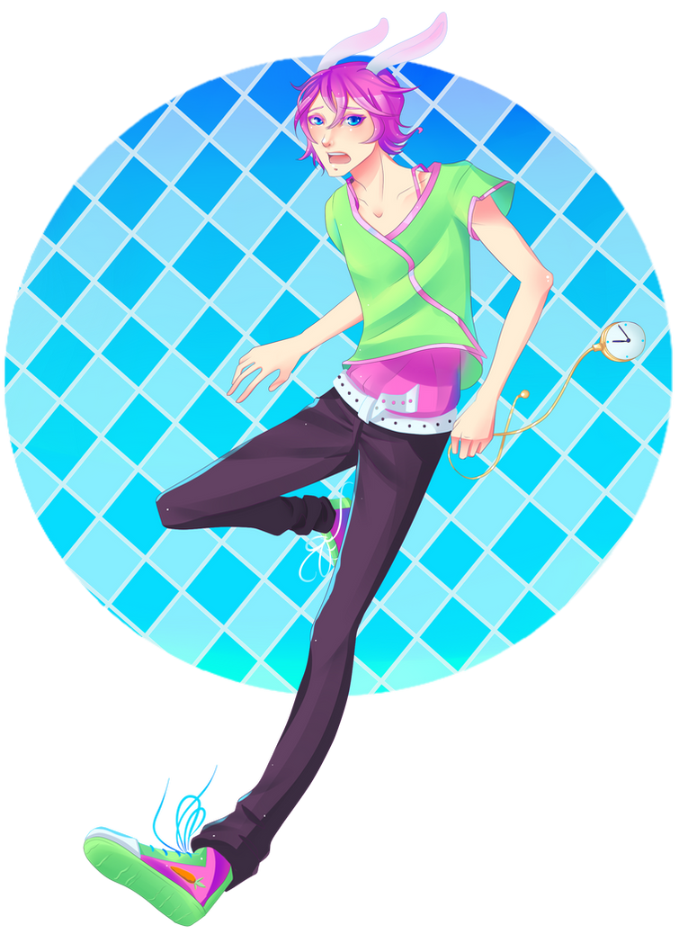 I'm Late! I'm Late! Contest Entry by ochanotsuki