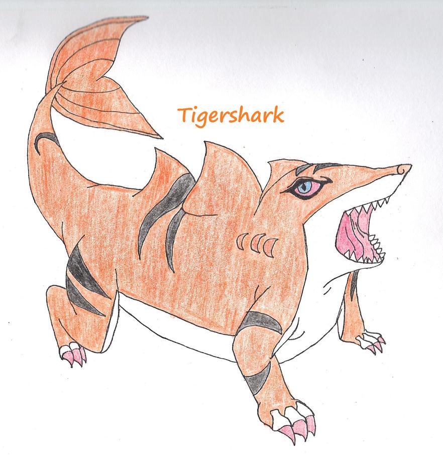 Tigershark from invizimals by s0n1ce1s3n on deviantart - Tigershark invizimals ...