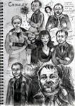 Crowley sketchdump by Kociepierogi