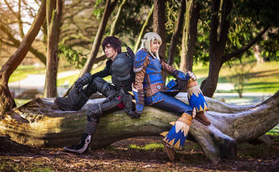 Double Dragon - HTTYD3 Hiccup Cosplay