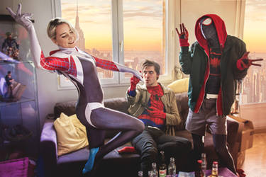 Spider-Party - Spiderman Cosplay
