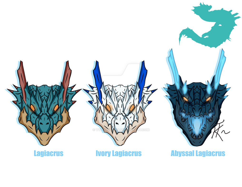 lagiacrus family by tyvridkizuna on deviantart