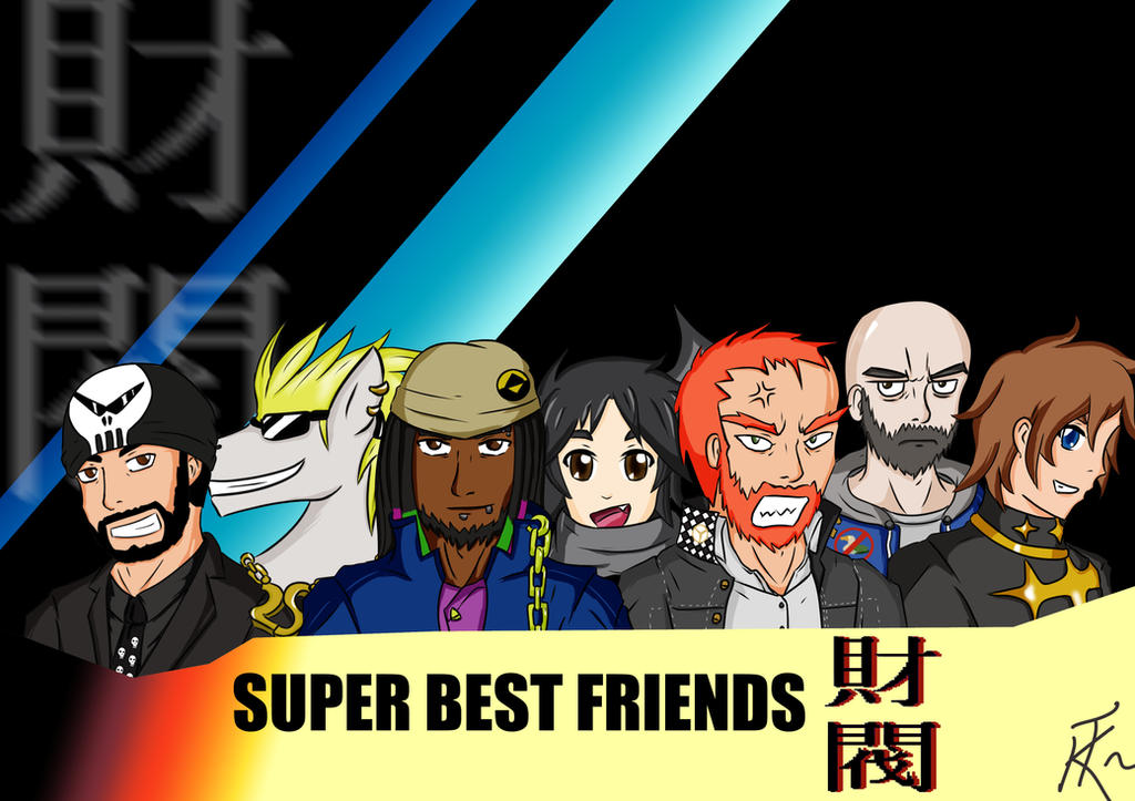 Best Friends Zaibatsu Quotes : Super best friends zaibatsu wallpaper by tyvridkizuna on