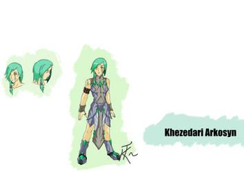 [Concept Art] Khezedari Arkosyn