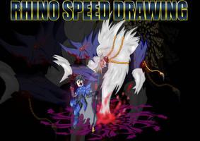 Rhino Speed Drawing Omni Evo Title Card