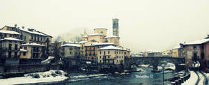 San Giovanni Bianco, cityscape by WelshGlue