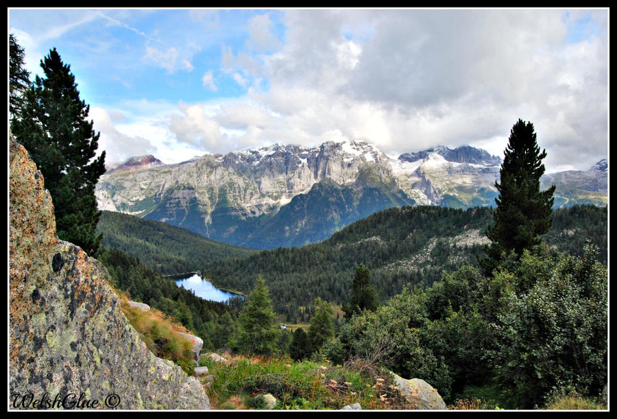 Dolomiti di Brenta e lago Malghette by WelshGlue