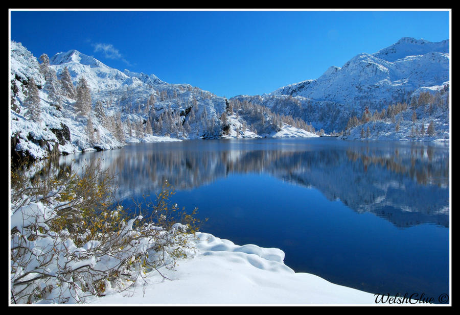 Marcio Lake, autumn/winter by WelshGlue