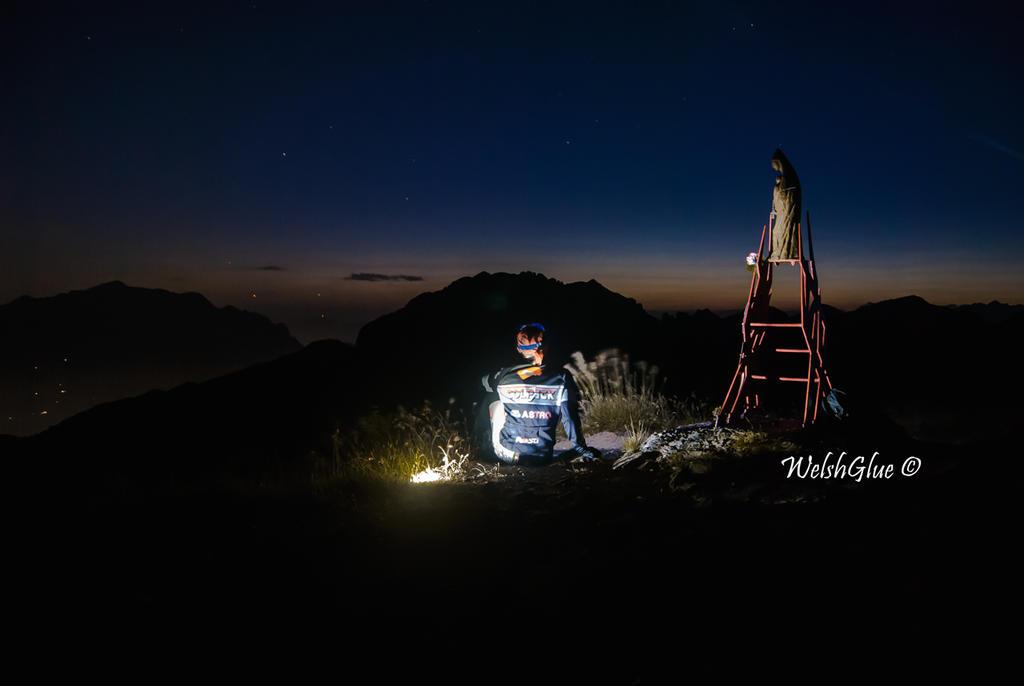 Night selfie by WelshGlue