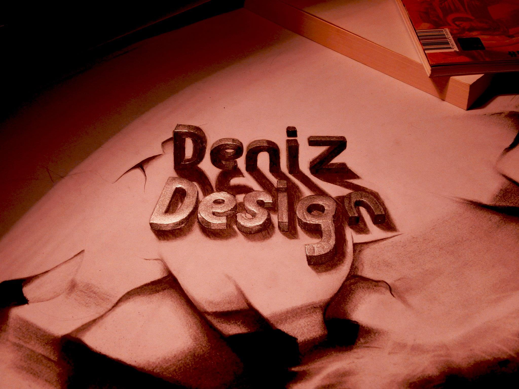 text 3d by deniz-dsgn on DeviantArt