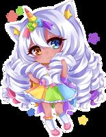 Rainbow girl [cmm] by Neill-Ayane