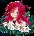 Flower hugs [YCH]
