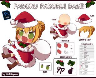 [P2U] PADORU PADORU! Base by Neill-Ayane