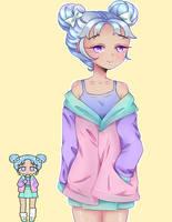 Pastel Girl Challenge by BlackEmii