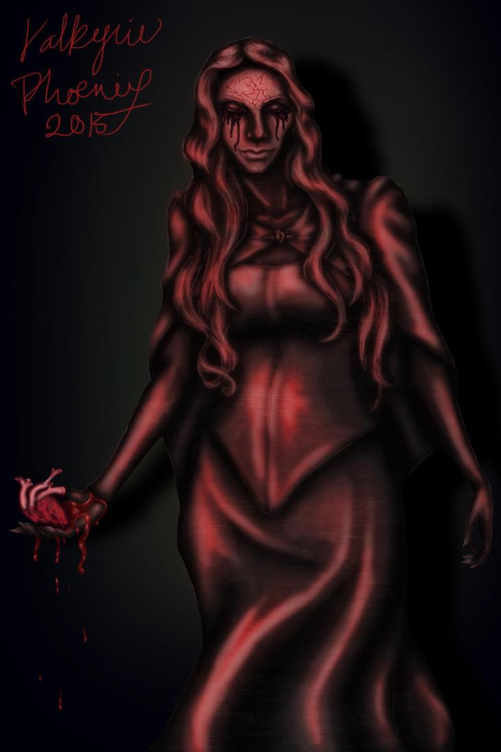 Lady of the Broken Heart by ValkyriePhoenix